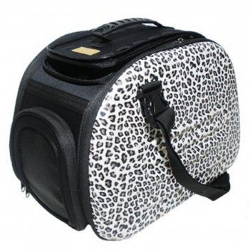 Сумка-переноска складная ibbiyaya для кошек и собак, до 6 кг, сафари