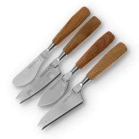 Набор мини-ножей для сыра, 4 предмета, длина: 15,5 см, материал: нержавеющ