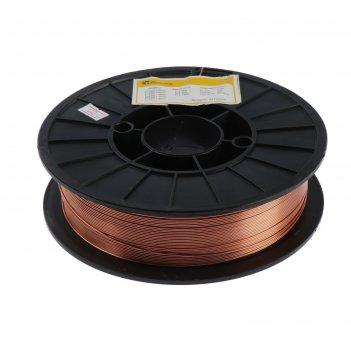 Проволока сварочная ws weldeship er70s-6, d=1.2 мм, 5 кг