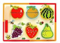 Набор для резки фруктовая грядка с ножом