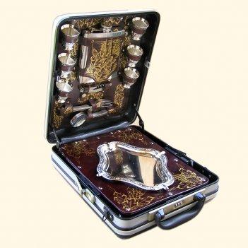121кт6 набор подарочный «оригинал» втемном оформлении (6персон)