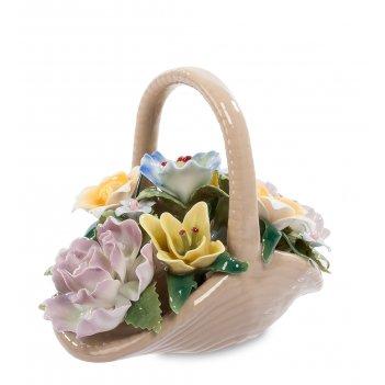 Cms-33/25 композиция цветочная корзина (pavone)