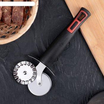 Нож для пиццы 18,5 см чили, цвет черный