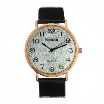 Часы наручные женские kx -  гламур d=3.5 см, черные
