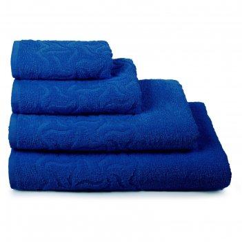 Полотенце махровое радуга пд-3501-04352 цв.18-4045 70х130 см, синий, хл.10