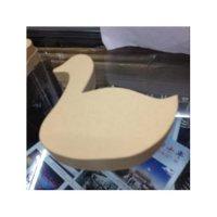 Шкатулочка-лебедь, картон,16.5х16.5х3.5 см