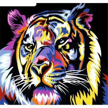 Фреска тигр k-212  а3