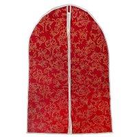 Чехол для одежды, спанбонд, цвет бордовый