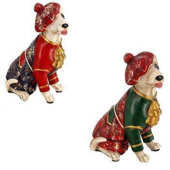 Фигурка декоративная собака, 11.5x7.5x15см