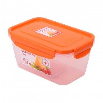 Пластиковый контейнер 1.3 л