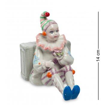 Cms-23/55 музыкальная статуэтка клоун (pavone)