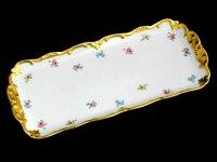 Рулетница мейсенский цветок 1016 36см. без ножки