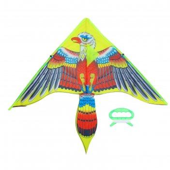 Воздушный змей орел хвостатый с леской