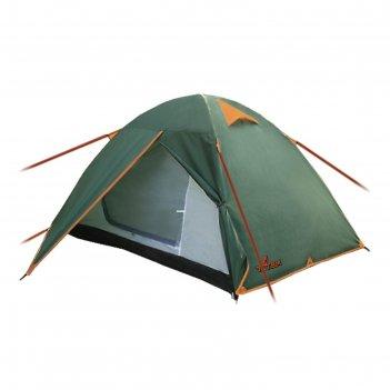Палатка totem tepee 3 (v2), цвет зеленый