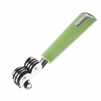 Ножеточка 19,5*3*2см. (зеленый) (нержавеющая сталь, пластик) (упаковочный