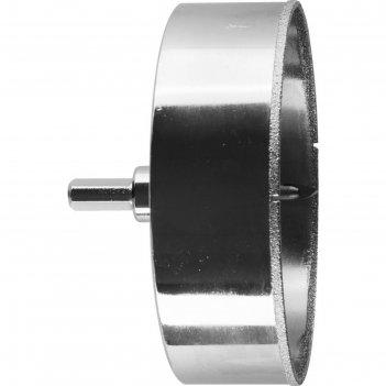 Коронка алмазная зубр 29850-115, по кафелю и стеклу, d=115мм,зерно р60,цен