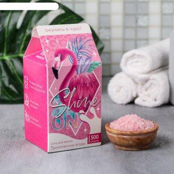 Соль в коробке молоко shine on, 500 г