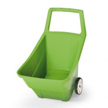 Садовая тележка prosperplast load   go iii 95л, оливковый