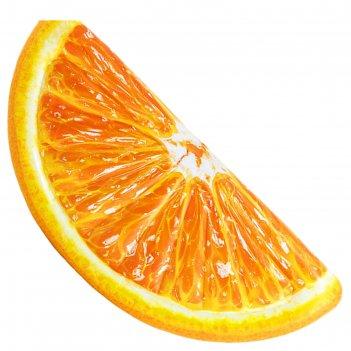 Матрас для плавания «апельсиновая долька», 178 х 85 см, 58763eu intex