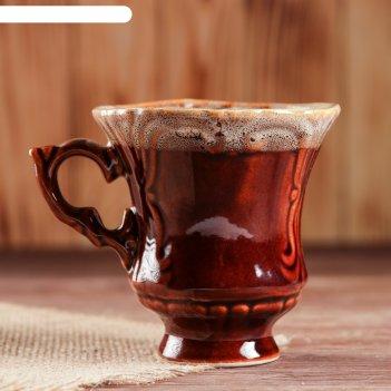 Чашка блиц чайная, коричневая, 0,25 л