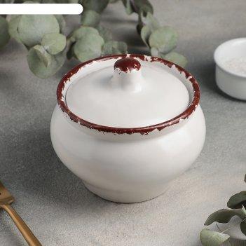 Горшок для запекания 11,5 см, h 11,5 см, 500 мл antica perla