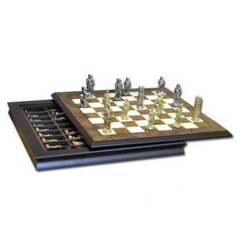 Шахматы «romani-barbari» 40х40см