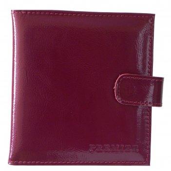 Кредитница (2 ряда), н/к, бордовый v-144-20