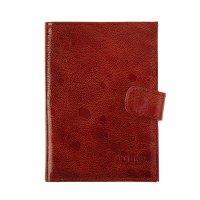 Бумажник водителя o-179 (с кнопкой)/o-179 (рубин вестленд (луна)) № 107