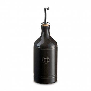 Бутылка для масла и уксуса, объем: 450 мл, материал: керамика, цвет: базал