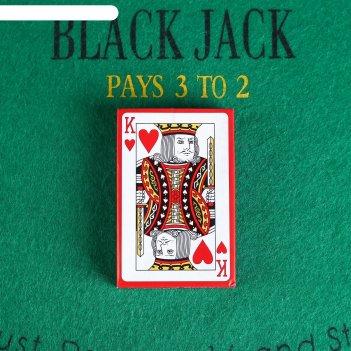 Карты игральные бумажные классика. король, 54 шт., 8,8 x 5,7 см, микс