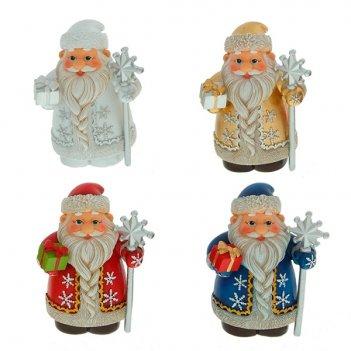 Фигурка декоративная дед мороз, 8 см
