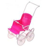 Коляска для куклы, сидячая (цвет розовый)