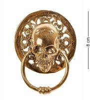 43-104 дверной молоток череп (бронза, о.бали)