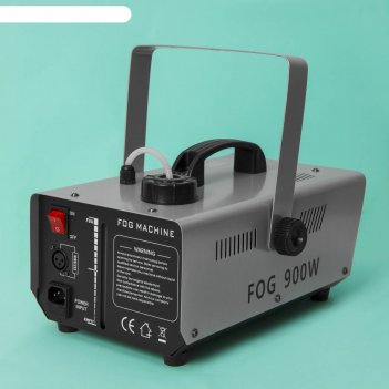 Дым-машина luazon lighting lpd-04 900 вт, 220 в, пульт на проводе 3 м