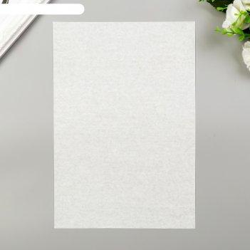 Декоративная калька колибри белая, набор 10 шт, а4, 25 гр/м2