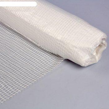 Плёнка полиэтиленовая, армированная, толщина 120 мкм, 25 x 6 м, белая