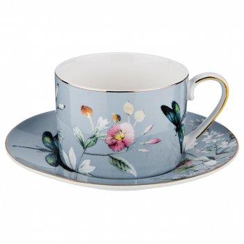 Чайный набор на 1 персону, 2 пр., блоссом 250 мл. (кор=24набор.)