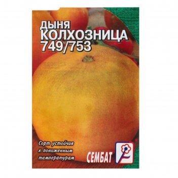 Семена дыня колхозница 749/753, 0,5 г