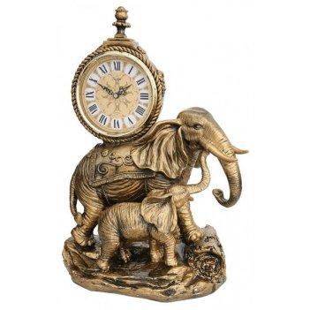Скульптурные часы из полимерных смол восток 8324-2