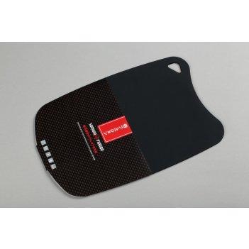 Доска термопластиковая с антибактериальным покрытием (черный) samura fusio
