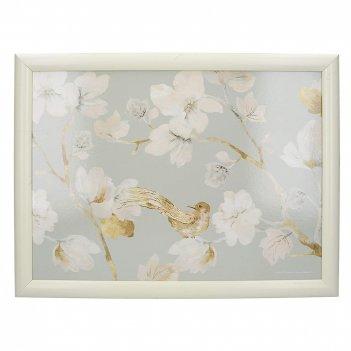 Creative tops поднос с подушкой duck egg floral