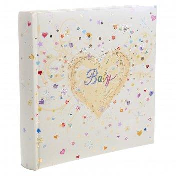 Фотоальбом 30 листов innova, premium baby album