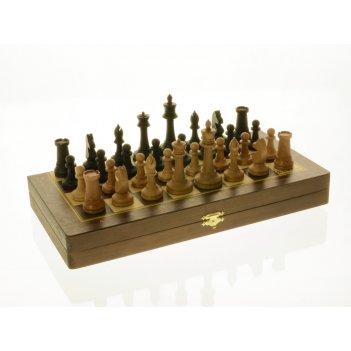 Шахматы складные бук, 50мм с утяж.фиг. (э)