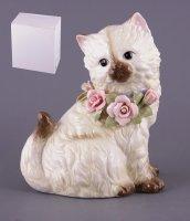 Статуэтка кошкавысота=21 см длина=17 см