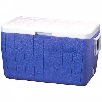 Контейнер изотермический coleman 48qt poly-lite cooler blue, 45 л