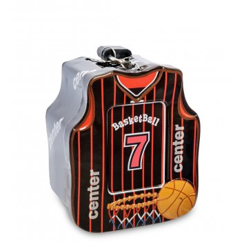 Bx- 24/2 металлическая копилка баскетбол