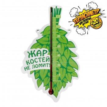Термометр шкальный в баню жар костей не ломит