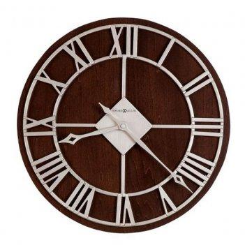 Настенные часы из металла howard miller 625-496 prichard