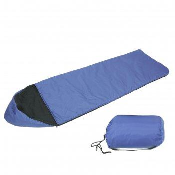 Спальный мешок люкс с москитной сеткой 2-х слойный  микс
