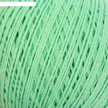 Нитки вязальные фиалка 225м/75гр 100% хлопок цвет 2102